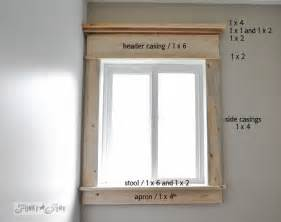 Farmhouse Interior Window Trim