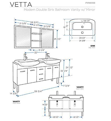 Bathroom Makeup Vanity Dimensions by Standard Bathroom Vanity Height Prepossessing Concept