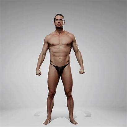 Pack Anatomy Pose Male Reference 360 Motion
