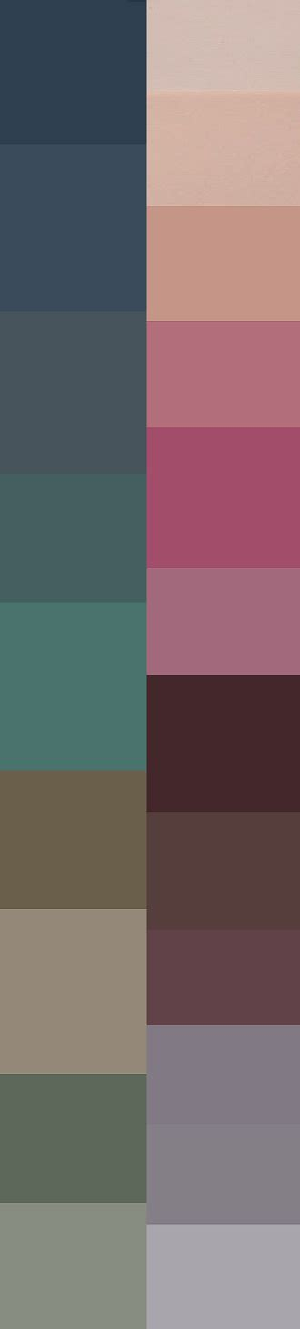 Palette Green All Seasons by I Pretty Much Like All These Colors Except For Maybe That