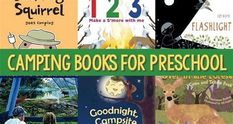 camping theme activities 828   Camping Theme Books for Preschoolers