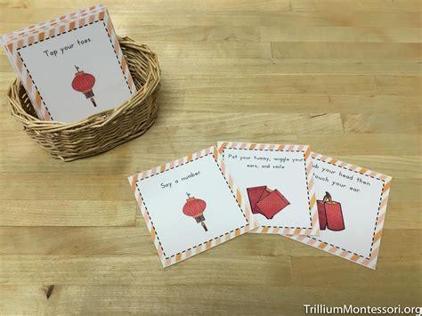 chinese  year preschool activities trillium montessori