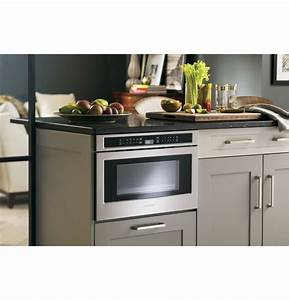 Monogram 1 2 Cu  Ft  Drawer Microwave