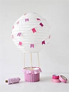Kinderzimmer Für Mädchen : diy heissluftballon f r das kinderzimmer gastbeitrag m dchen oder junge hei luftballon und ~ Sanjose-hotels-ca.com Haus und Dekorationen