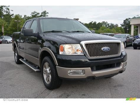 Black Ford F150 by 2005 Black Ford F150 Lariat Supercrew 105051682