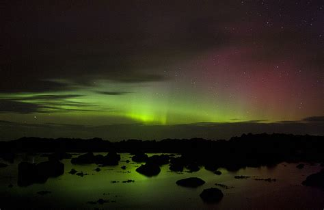 ireland northern lights kanelstrand the solar and the