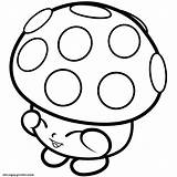 Shopkins Mushy Dessin Mushroom Moo Coloring Miss 1s Season Inspirant sketch template