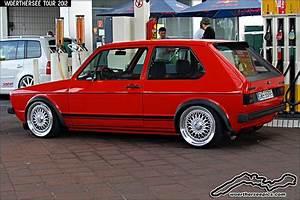 Golf Mk1 Gti : red vw golf mk1 gti by retromotoring via flickr german ~ Medecine-chirurgie-esthetiques.com Avis de Voitures
