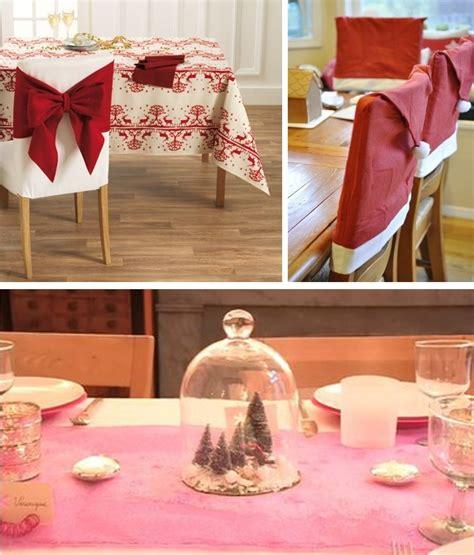 decoration de chaise pour noel diy 30 id 233 es inspirantes pour un noel chic et lumineux bettinael couture made in