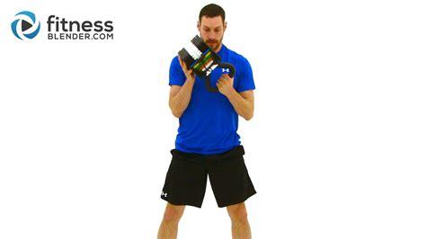 hiit kettlebell workout training blender fitness fitnessblender kelli minute