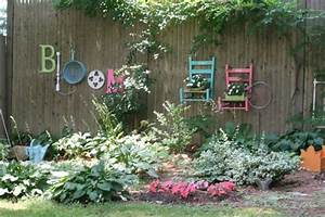 25, Ideas, For, Decorating, Your, Garden, Fence