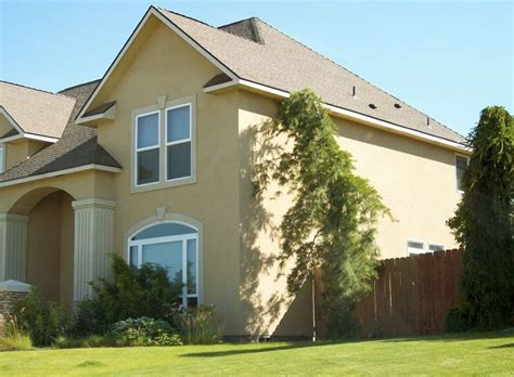 exterior paint schemes stucco exterior and home color
