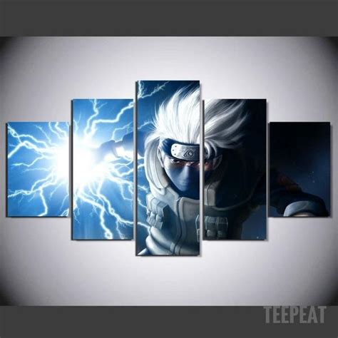 kakashi painting  piece canvas empire prints