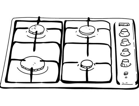 le chauffante cuisine dididou coloriage la cuisine page 3