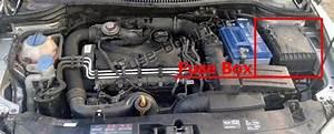 Fuse Box Diagram Seat Toledo  Mk3  5p  2004