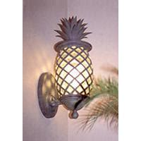 outdoor wall lighting pineapple home decor interior