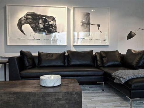 sala de tv sofá preto pruzak decoracao sala de tv sof 225 preto id 233 ias