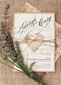 Top 15 popular rustic wedding invitaitons idea samples on