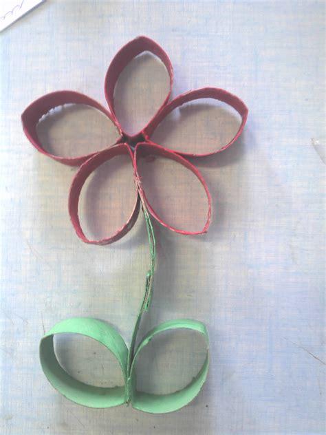 fleurs en papier toilette fleur en rouleau de papier toilette