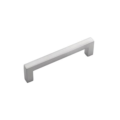 stainless steel cabinet hardware hickory hardware 3 3 4 96 mm skylight stainless steel