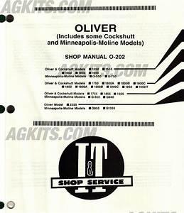 Oliver  U0026 Cockshutt Tractor Repair Manual