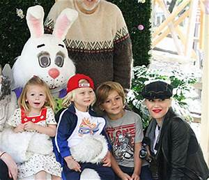 No doubt Easter is fun for Gwen Stefani and her sons ...