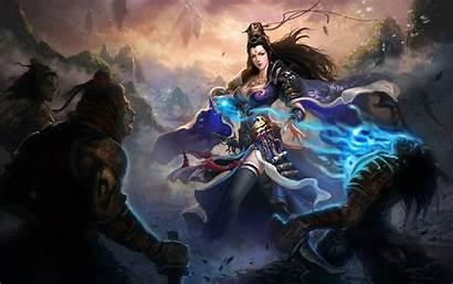 Fantasy Warrior Wallpapers Magic Warriors Asian War