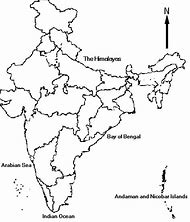 Outline Picture Of India Map With States - picture of on india map with lakes, india map with important cities, india map with capitals, india map with roads, india map with rivers, india map with airports, india map with railroads, india map with mountain ranges,