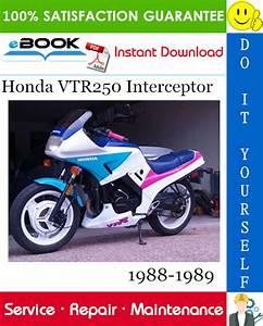Best  U2606 U2606 Honda Vtr250 Interceptor Motorcycle Service Repair