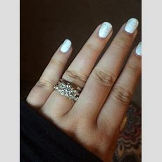 Can I See Your Wedding Band With 3stone Engagement Rings?