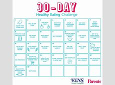 The 30Day Healthy Eating Challenge Parents
