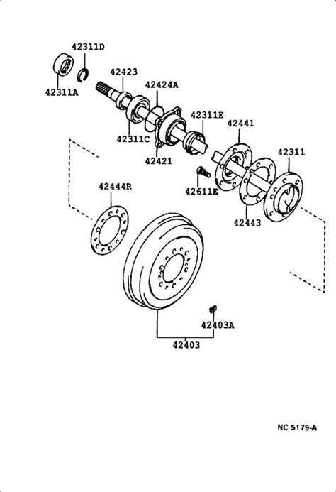 9031050006 - Axle Shaft Seal (Left, Right, Rear). Seal