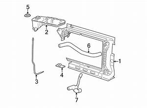 Ford Mustang Engine Coolant Reservoir Bracket  4 6 Liter