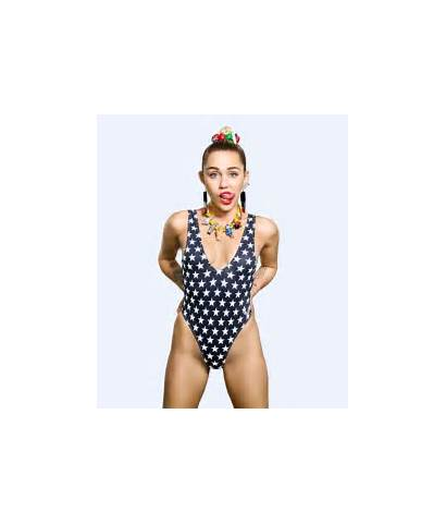 Miley Cyrus Vma Photoshoot Tongue Promo Mtv