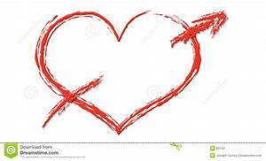 Heart With Arrow Clipart - Clipart Suggest