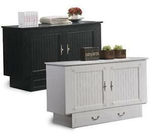 Chest Cabinet Bed - the murphy bed you dont install sleep chest cabinet