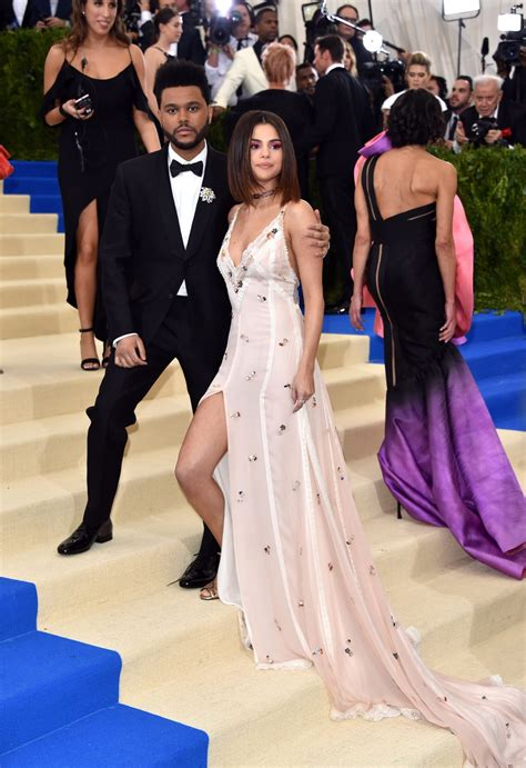Selena Gomez and The Weeknd Are All Loved Up on The Met ...