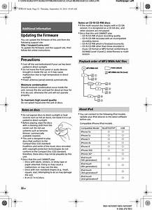 Mexn4100bt Bluetooth Audio System User Manual Mex
