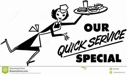 Service Quick Special Vector