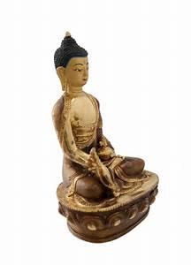 Statue De Bouddha : statue de bouddha gautama copper et or nepal statues tibetaines statues bouddhistes ~ Teatrodelosmanantiales.com Idées de Décoration