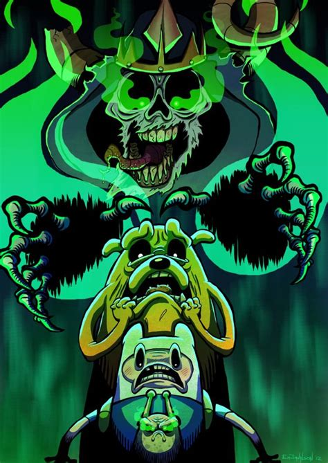 Lich by EmtheLimey (Adventure Time) | Adventure time ...