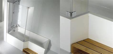 douche et baignoire dans la salle de bains d 233 co salle de