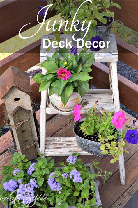 Junky Deck Decor Create Babble