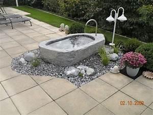 Brunnen Im Garten : wasser im garten zuber gartengestaltung ~ Sanjose-hotels-ca.com Haus und Dekorationen