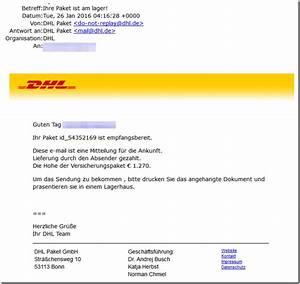 Dhl Liefertag ändern : virusalarm gef lschte dhl e mail im umlauf mimikama ~ A.2002-acura-tl-radio.info Haus und Dekorationen
