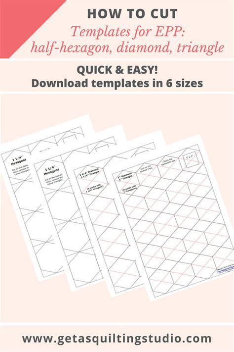 hexagon quilt paper templates easy quilt pattern