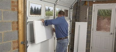 what type of insulation to use in garage all you need to about garage door insulation types