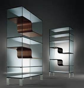 30 Wide Bookcase by Modern Glass Bookcase Freshome Com