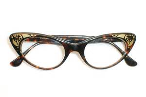 cat eye glasses womens vintage 50s 60s cat eye glasses eyeglasses combo