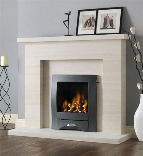 Marble And Limestone Surrounds Gas Fires  Fireplace Designs